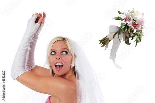 невеста ловит букет картинки