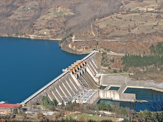 Photo sur Aluminium Barrage dam