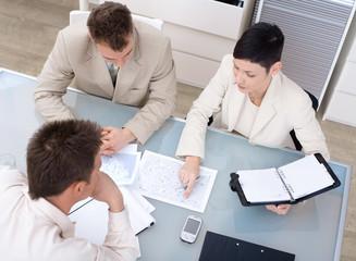 Businessteam working