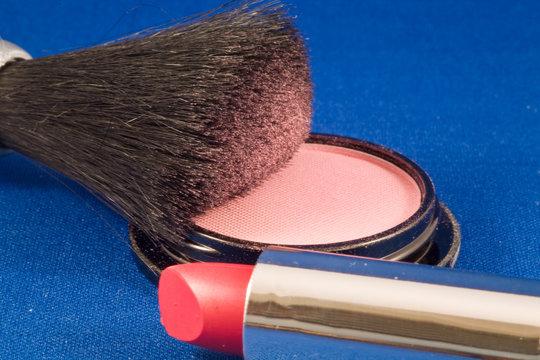 Blush & Lipstick
