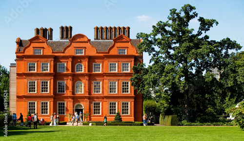 Old Red Brick English Mansion Stock Photo And Royalty