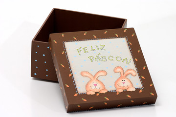 Brown Easter Box