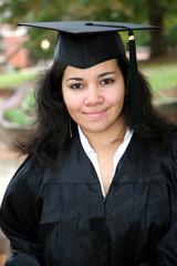 Teenager at Graduation