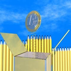 Box Euro Münze 01