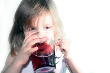 drink cherry juice