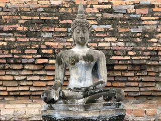 Concrete Buddha Statue
