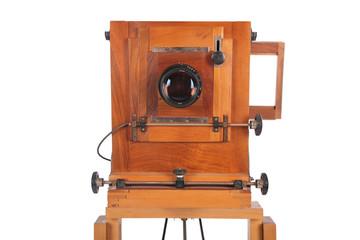 Obsolete camera close-up