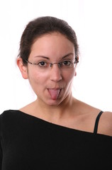 Zunge raus