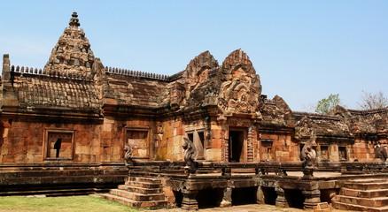 vestige khmer, pha nom rung, thailande