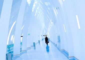 Airport transit, shot at Copenhagen Airport
