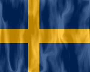 drapeau suède flag