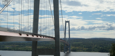 Högakustenbrücke in Schweden