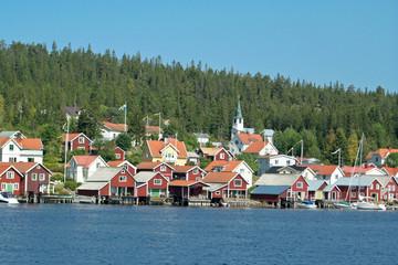 Insel Ulvön in Nordschweden