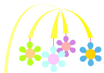 flowers mobile