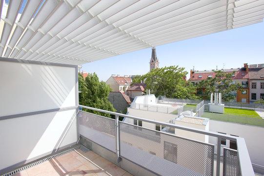 Architektur Balkon