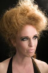 Long red hair - Pretty woman