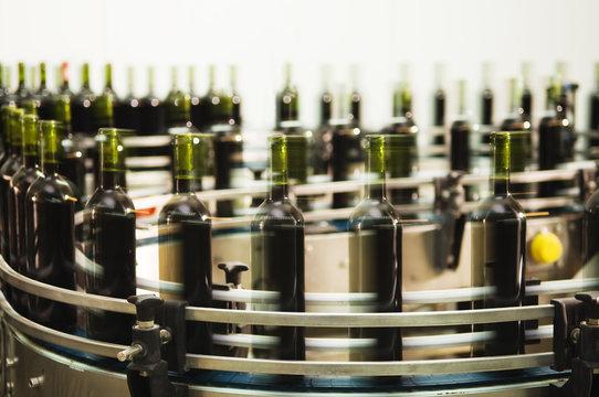Bottle filling line