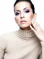 make up kosmetik gesicht