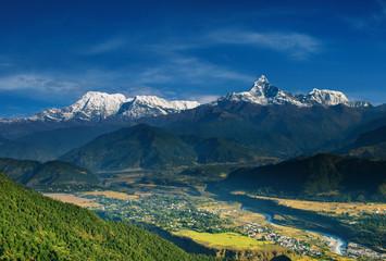 Wall Murals Nepal Annapurna massif