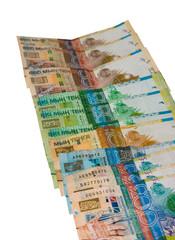 Kazakhstan money.