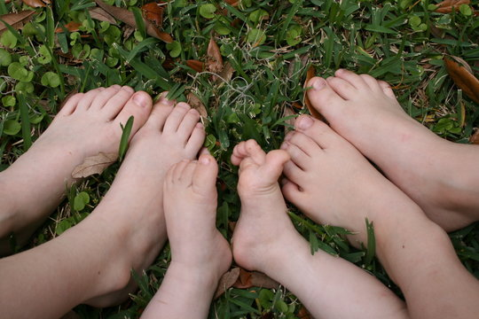 Footsies in the Grass