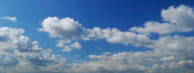 ciel et nuage panoramique