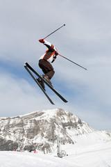 Saut ski freeride