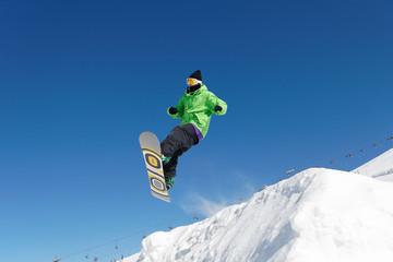 Glisse snowboard