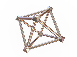 Simple geometrical figure.