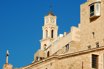 Old Jaffa.Church