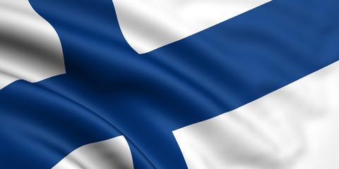 Finnland Fahne