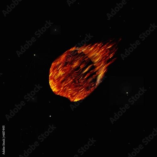 Fototapete Comet