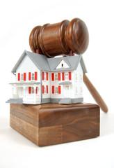 House on an auction block