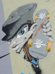 Graffiti Skateboarder