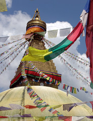 tempio stupa kathmandu