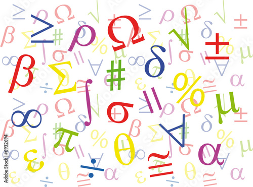quot maths symbols collage colour quot  stock image and royalty algebra clipart images algebra clipart teachers