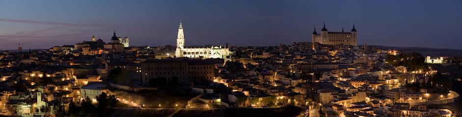 Toledo Night Panorama