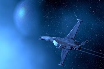 Space war-plane
