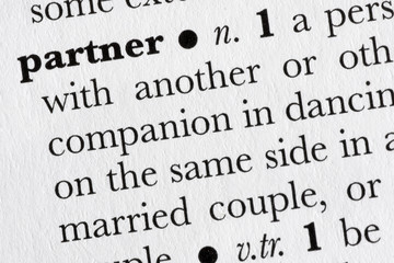 Partner word dictionary definition