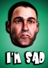 Very Sad Man Word 11