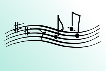 Blue dancing music