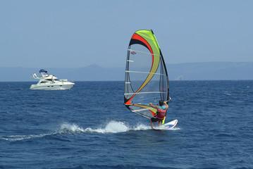 Windsurfing - Adriatic Sea