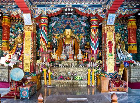Buddha, Bodhgaya, India.