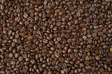 It is a lot of grains of coffee