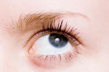 Closeup shot of  eye