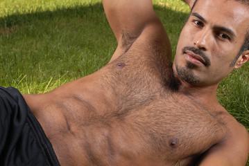 Hispanic Male - Sit Ups