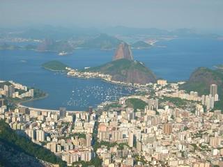 Rio de Janeiro - Panorama mit Zuckerhut & Botafogo