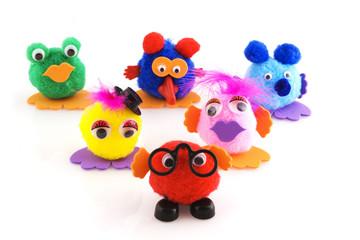 cute little puppets