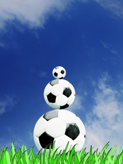Fußball Pyramide