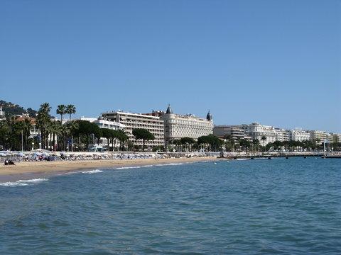 Cannes et la Croisette